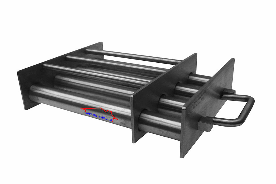 Casa del Iman - Rejilla magnetica cuadrada autolimpiante