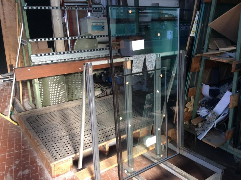 lavorazione vetro