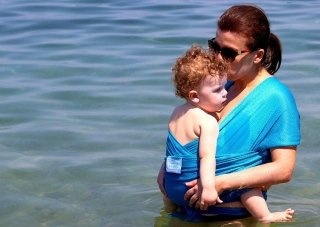 fasce Beachfront Baby Wrap
