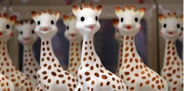 Sophie la giraffa bologna