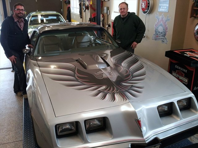 Windshield was removed and replaced on this 1979 Firebird.