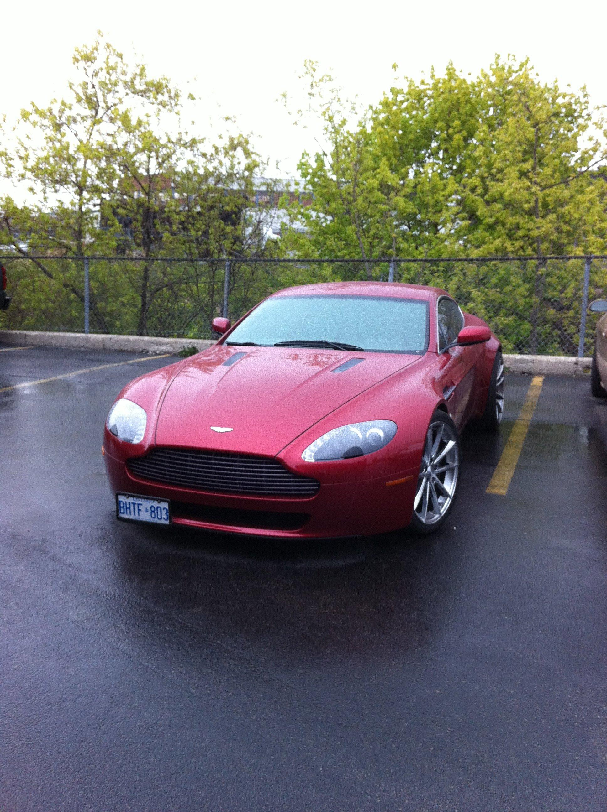 Aston Martin windshield replacement