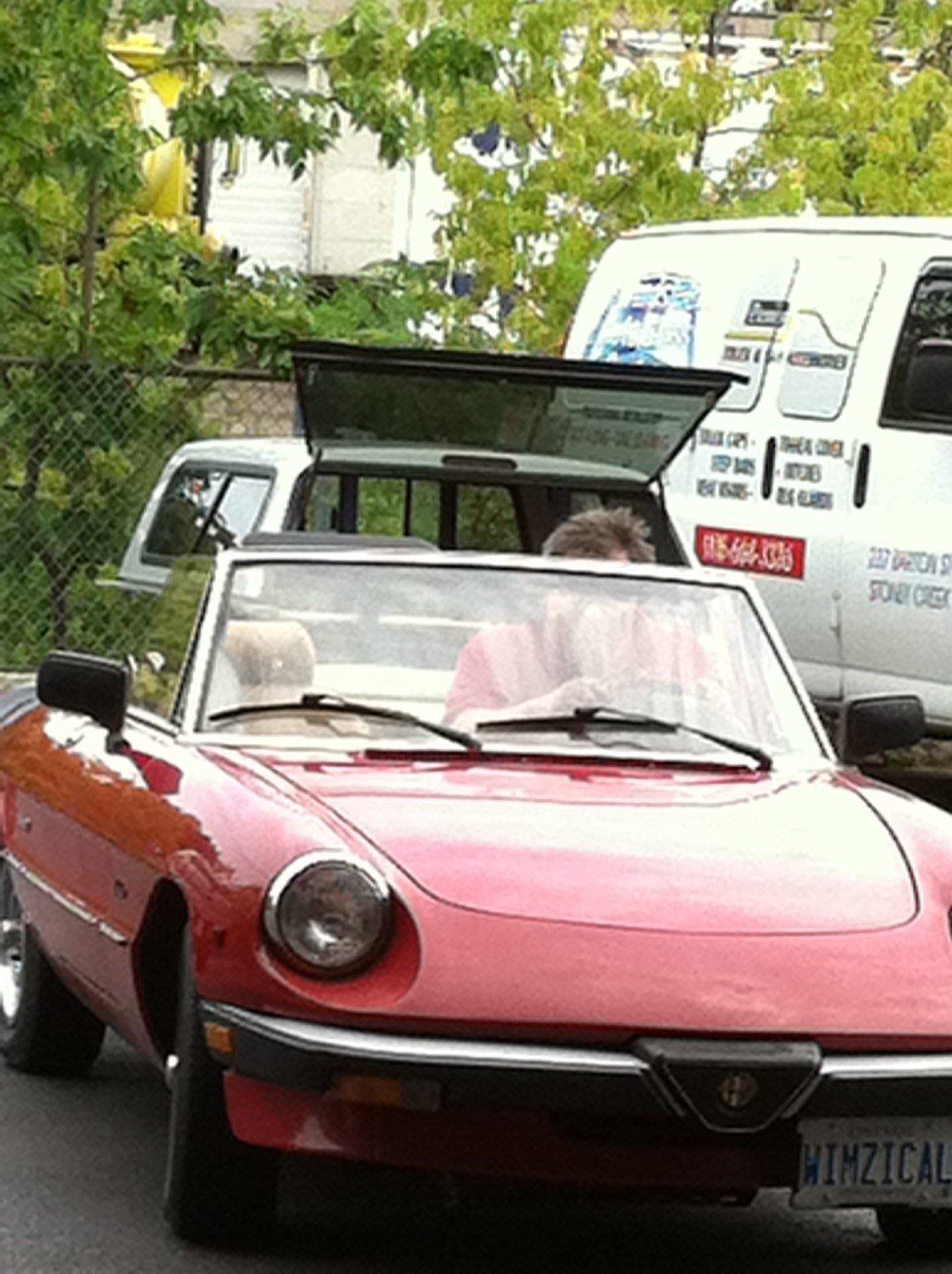 Fiat Spyder windshield replacement