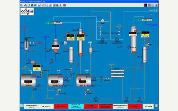 Settling and biodiesel distillation