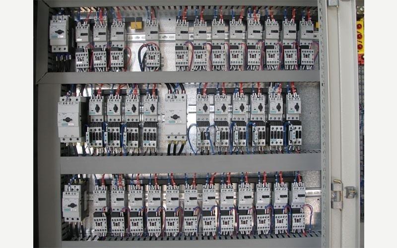 quadro elettrico circuiti di potenza