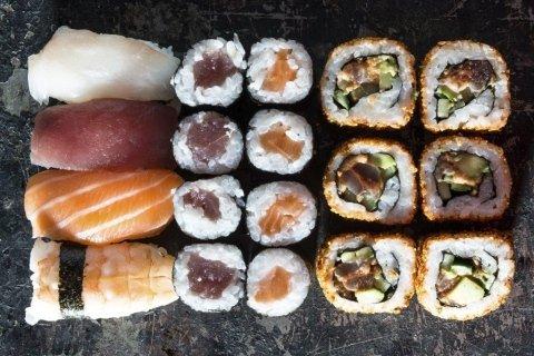 sushi a buffet