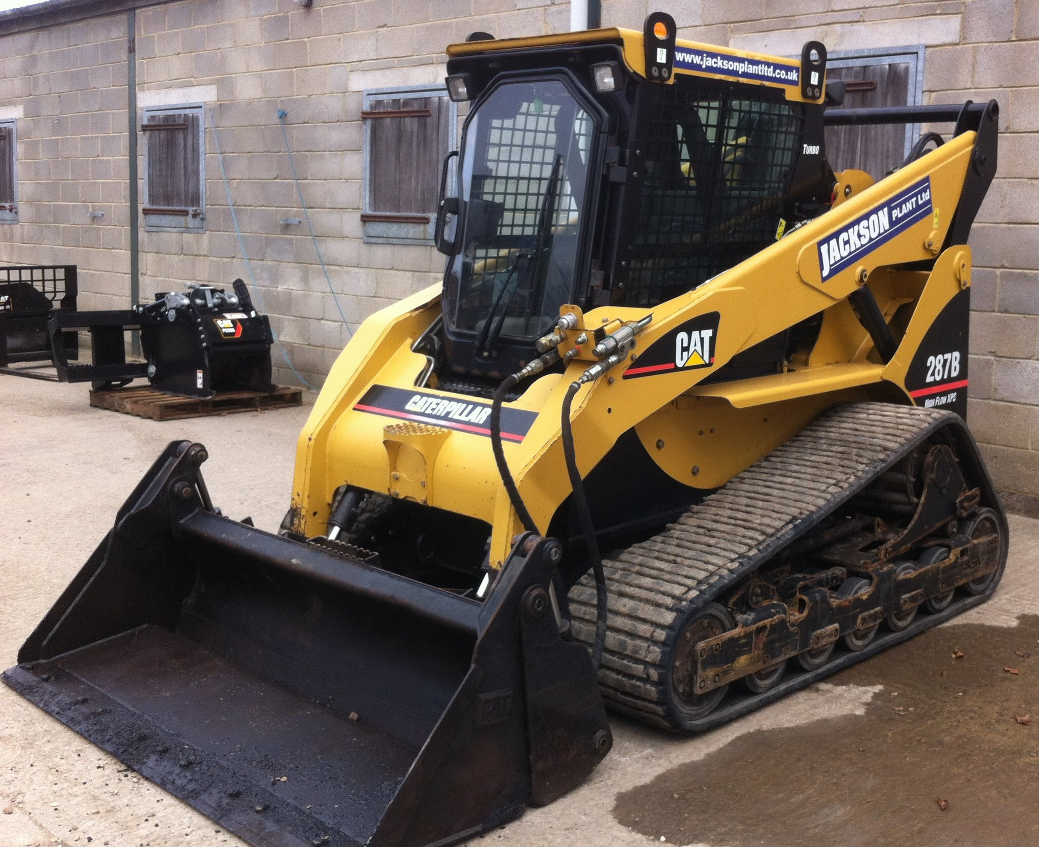 CAT 287B Skid Steer Loader