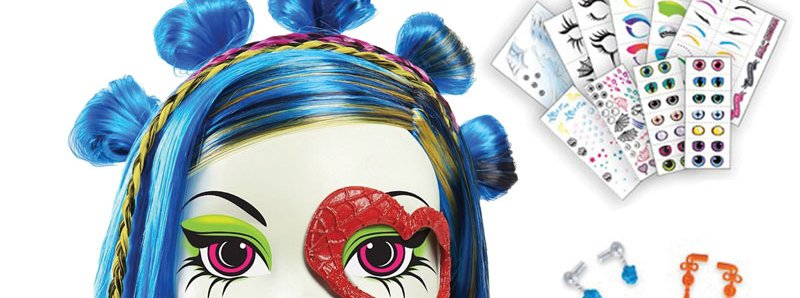 Monster High Gore-Geous Ghoul 'Anti-Styling' Head