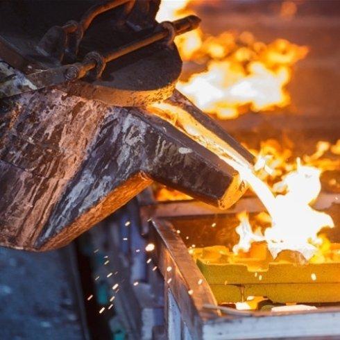 carbone per la forgia, metallo