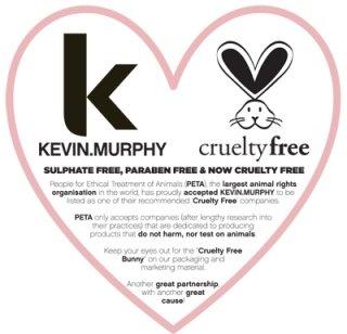 S&B utilizza per i suoi trattamenti di bellezza solo Prodotti Kevin Murphy certificati Cruelty Free