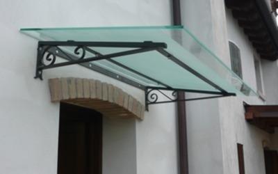 pensilina vetro e ferro
