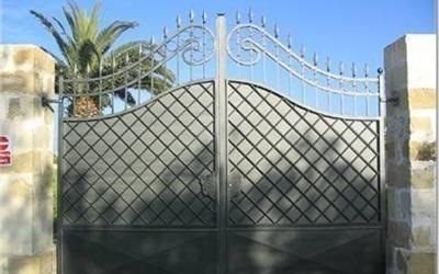 cancello lavorazione ferro