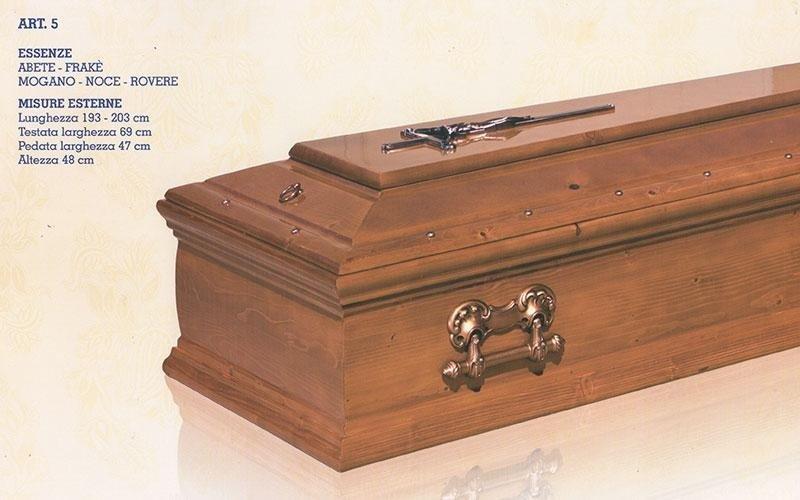 cofano funebre legni misti 5