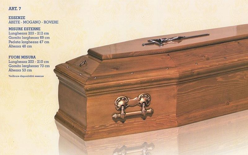 cofano funebre abete mogano rovere 7