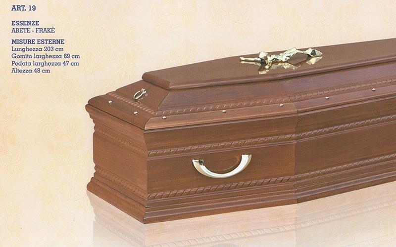 cofano funebre abete Frakè 19
