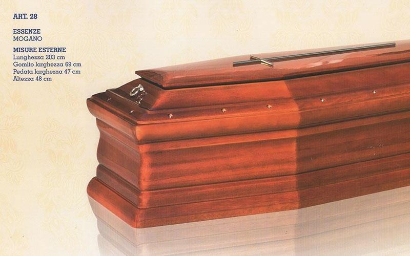 cofano funebre mogano 28