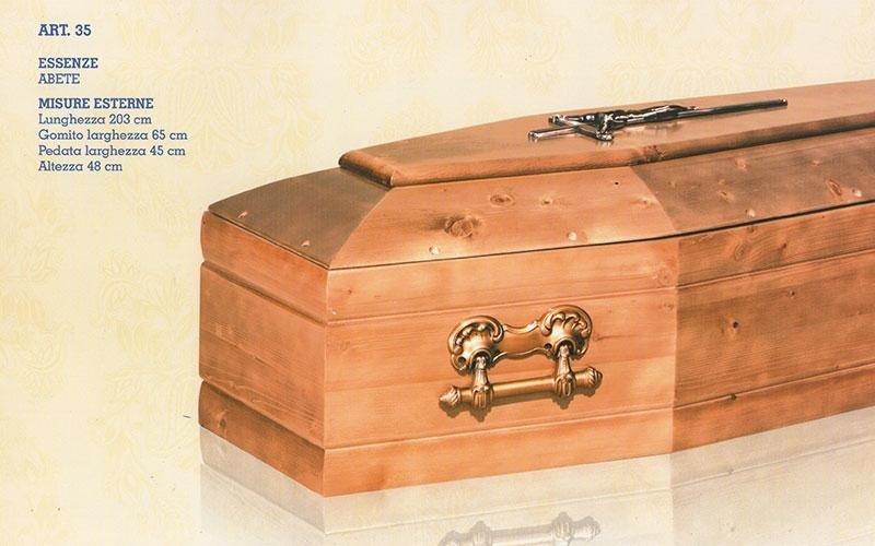 cofano funebre abete 35
