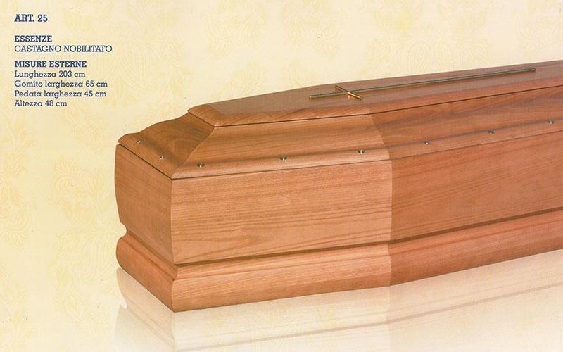 cofano funebre castagno nobilitato 31