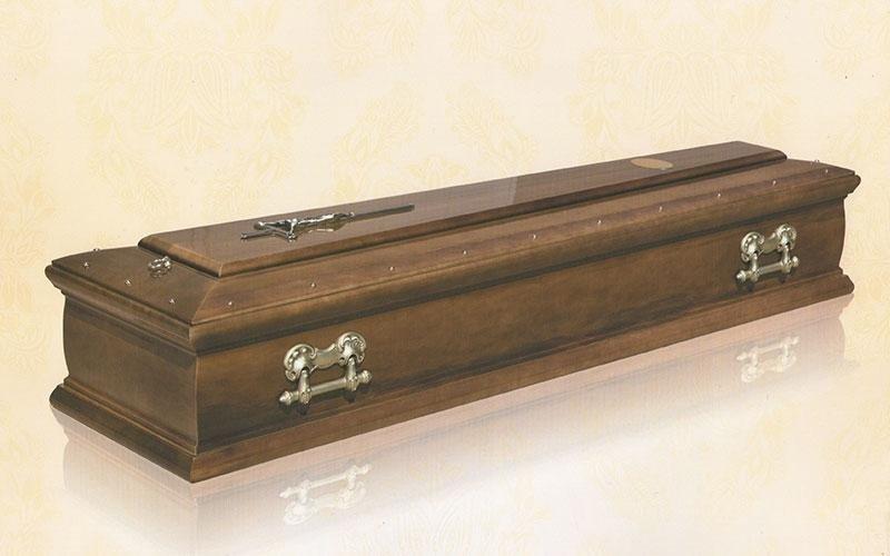 cofano funebre Frakè mogano rovere 3