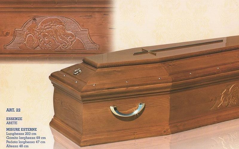 cofano funebre abete 22