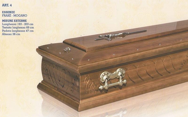 cofano funebre Frakè mogano 4