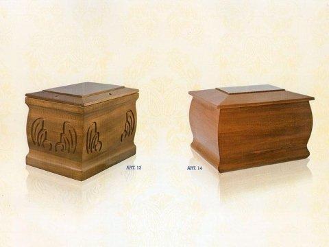 urne funerarie legno