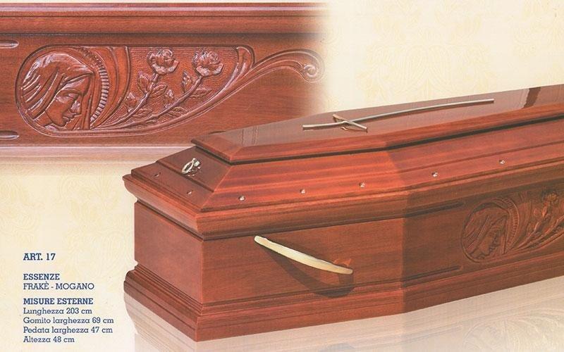 cofano funebre Frakè mogano 17