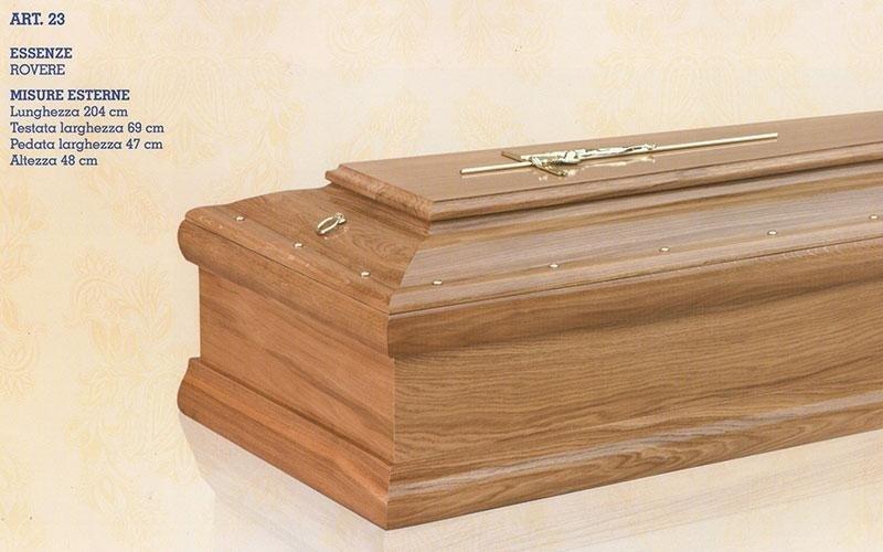 cofano funebre rovere 23
