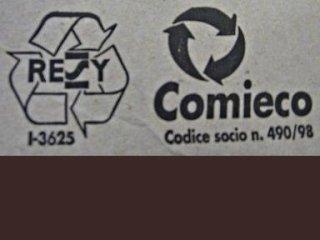 cartone riciclato