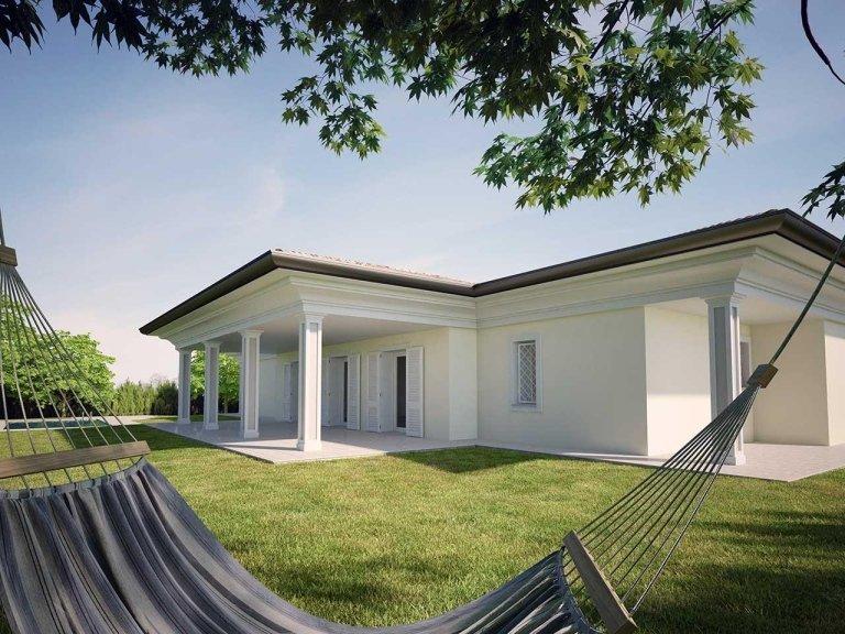 Vendita villa classica noceto parma albinia tre for Villa moderna progetto