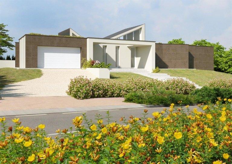 Vendita villa moderna noceto parma albinia tre for Casa a 4 piani