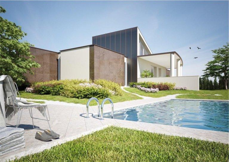 Vendita villa moderna noceto parma albinia tre for Progetto villa moderna