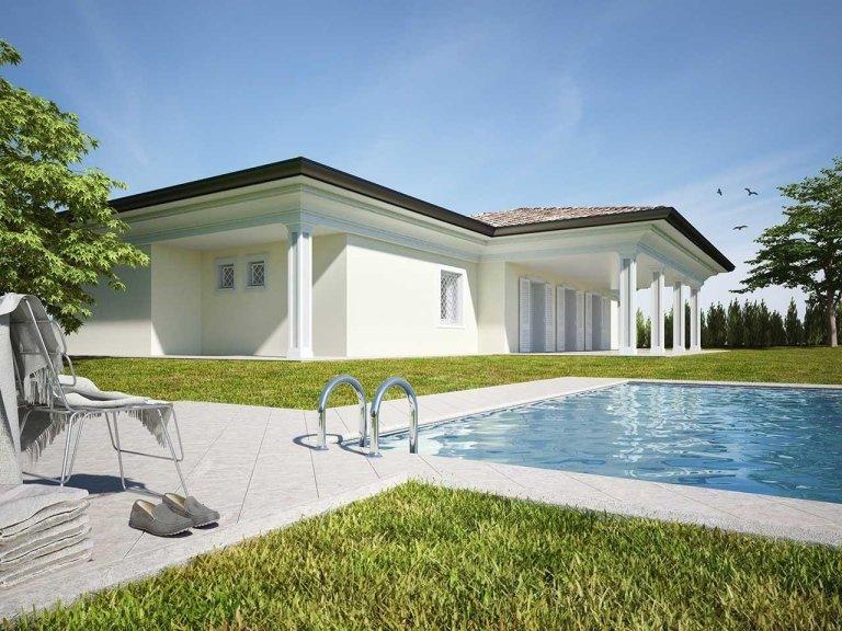 Vendita villa classica noceto parma albinia tre for Casa moderna un piano