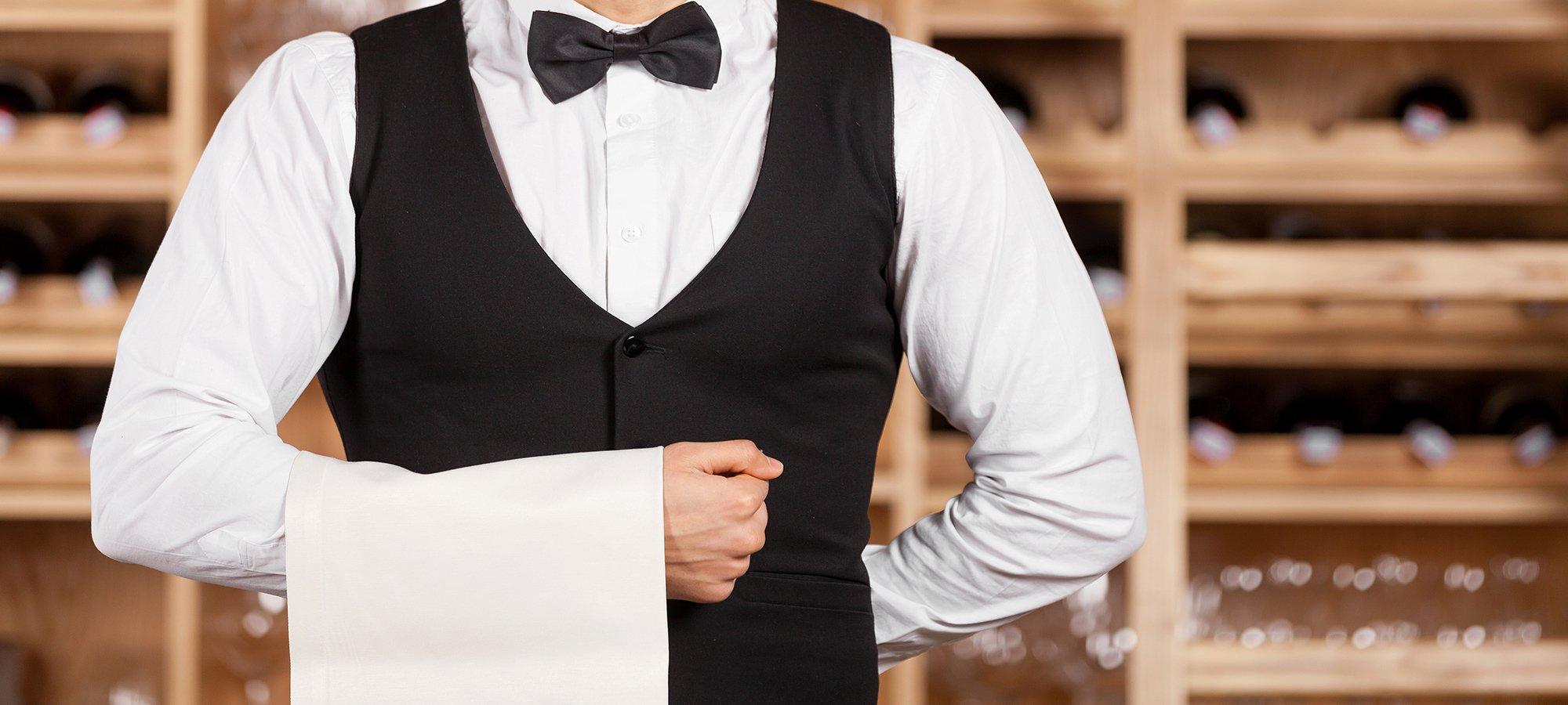 Abiti da lavoro bonvini giorgio cameriere