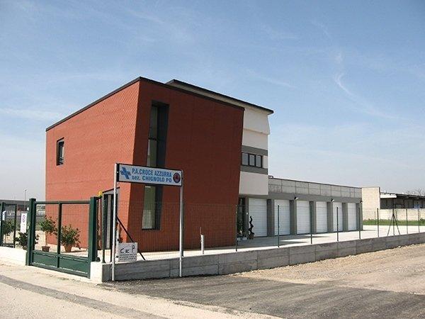 Nuova sede Croce Azzurra in Chignolo Po (PV)