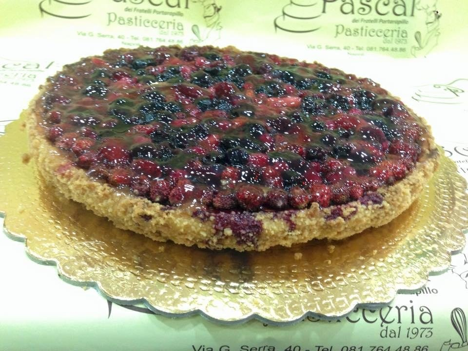 Crostata di fragoline