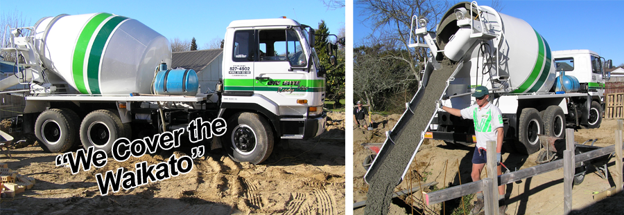 Our concrete equipment used for paving in Waikato
