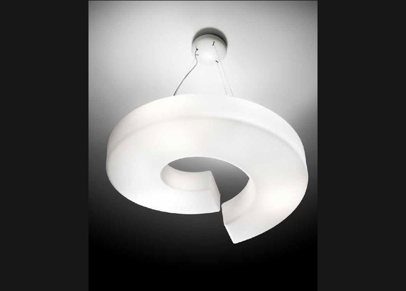 lampada sospensione spirale