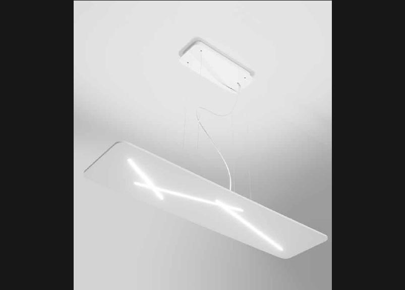 lampadario rettangolare