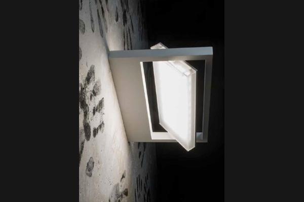 lampada da parete rettangolare