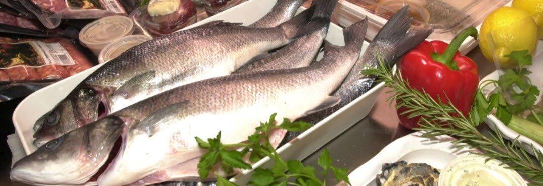 Fresh fish for the restaurant