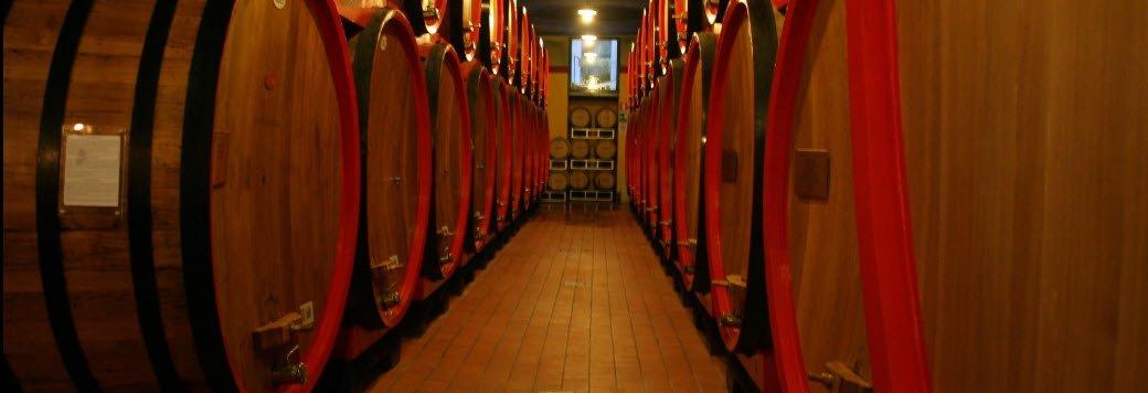 Fine Italian wines aged in oak barrels