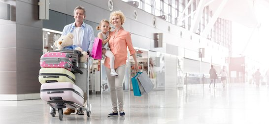 Airport transport by Total Travel Company
