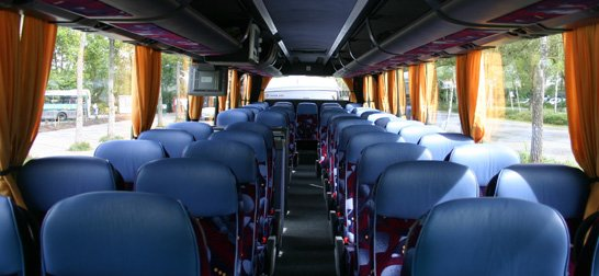 Coach hire by Total Travel Company