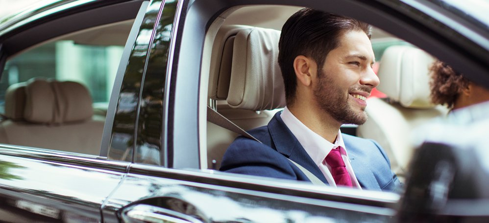 A Total Travel Company professional chauffeur