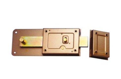 una serratura blindata in ferro