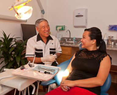 Cosmetic dentistry consultation in Pearl City, HI
