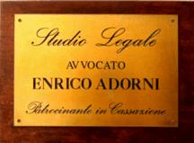 Adorni Avv. Enrico - LOGO