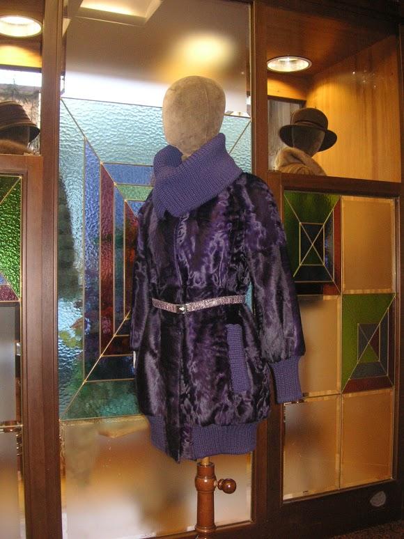 showroom di pellicceria