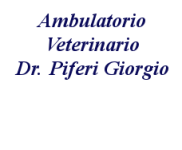 Ambulatorio Veterinario Dr. Piferi Giorgio
